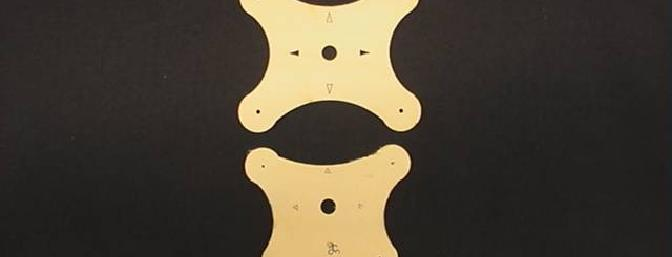 Note the difference in the mounting templates between the SPE-43 and the SPE-26 and MLD-28.