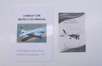 There are two manuals provided: color and black and white