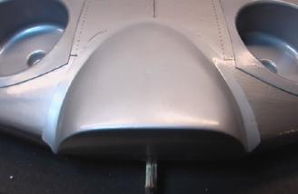 You will also have to trim the wing to fuselage fairing.