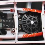 The big drive gears under the chassis