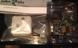 Brand new Sparky Flight Controller and  Sparky case