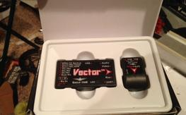 Vector fpv system with color osd (xt60)