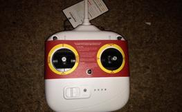 DJI Phantom 2.4 GHz Upgraded remote w/ built in battery + gimbal knob