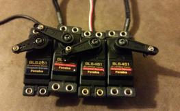 Futaba BLS251 AND BLS451 set