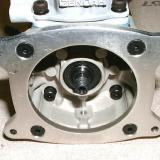 Engine mounting plate: The built-in firewall mount eliminated the need for a conventional