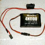 By using a heavy duty switch harness, (min. 3 amp capacity) it eliminates the need for a separate engine kill switch. Adding a charge jack to the airplanes setup, will allow for field charging the ignition battery quite easily. Note: The battery shown is only for illustration purposes. You will need at least a 1500 mah battery for proper ignition operation.