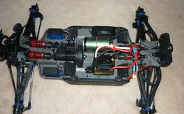 1/10 E-Revo Brushless w/ DS3X Telemetry Radio