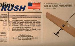 Stevens Aero adrenaline RUSH kit + extras