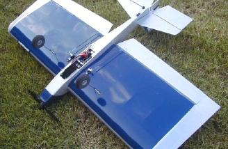 All equipment is mounted underneath wing.