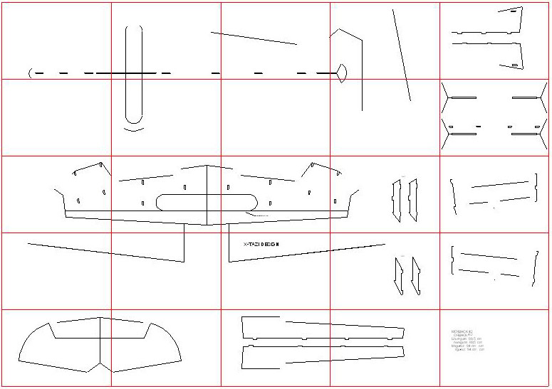 Rc boat plans dxf | Teesle