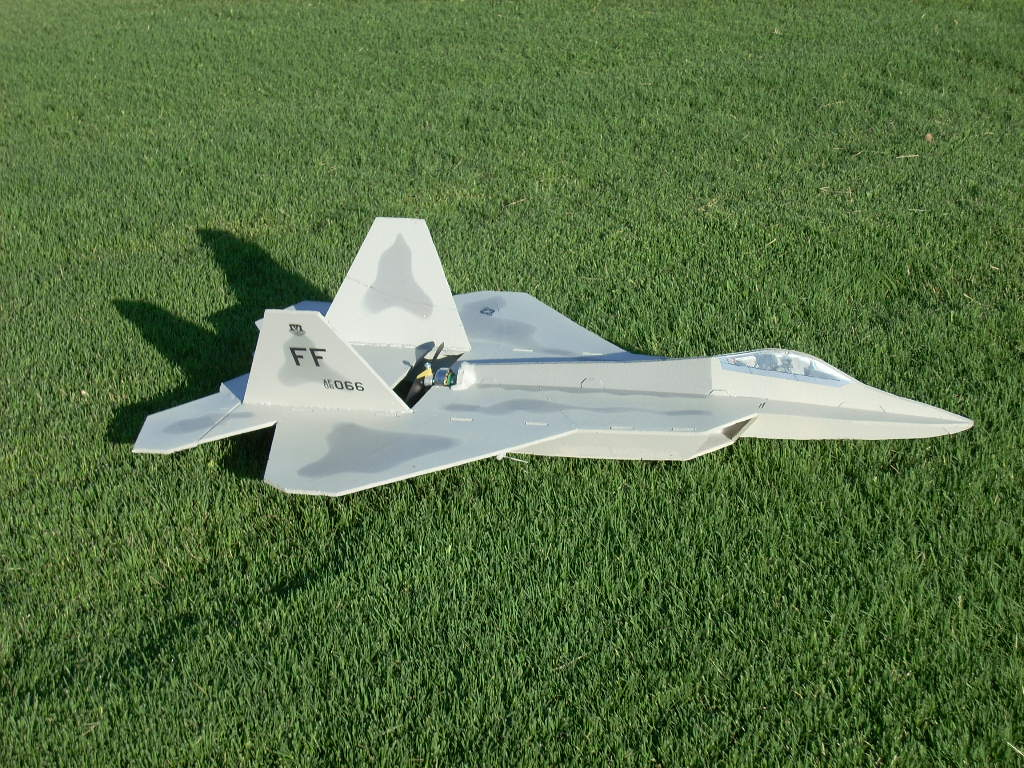 Mini Profile F-22 Raptor
