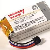 Thunder Power 1320 3S (17 Amps Continuous, 27 Amps Burst)