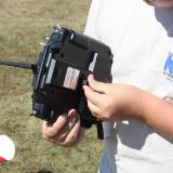 Plug the WTR-7 into the instructor's transmitter and turn on both transmitters to check proper orientation.