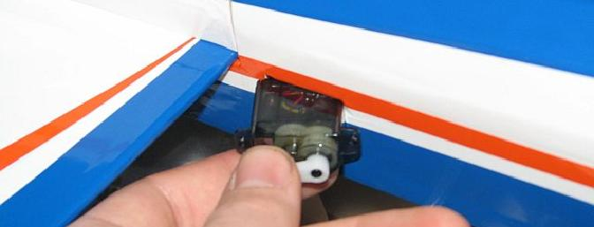 The only challenge to the fuselage assembly -- the recommended servos didn't <i>quite</i> fit.