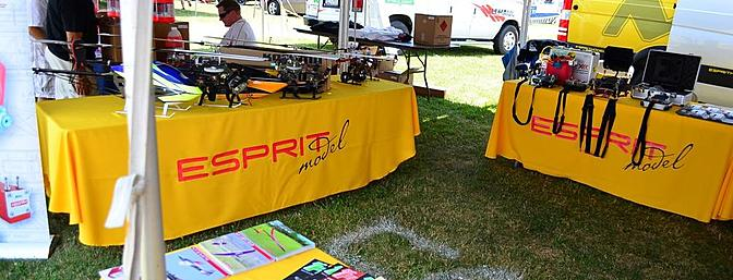 Esprit were at IRCHA in force, showing off the new line of Jeti Duplex radios and accessories.