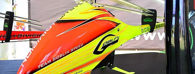 New from SAB was the Goblin Speed. Using many of the same components used in the 700 (yes there will be a conversion kit available), the Speed is an aggressive looking model, that is incredibly fast (as the name would suggest).