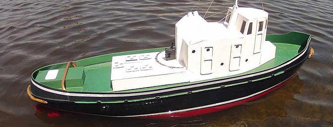 Klimek Tug Boat - RC Groups