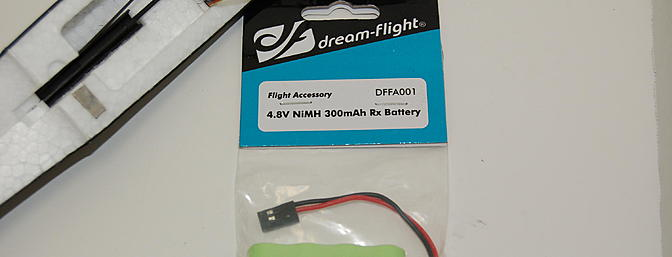 Dream-Flight sells the 300mAH 4.8 battery.