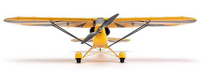 A scale parkflyer Clipped Wing Cub.