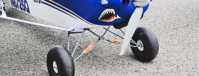 Carbon Z Cub Articulated Landing Gear