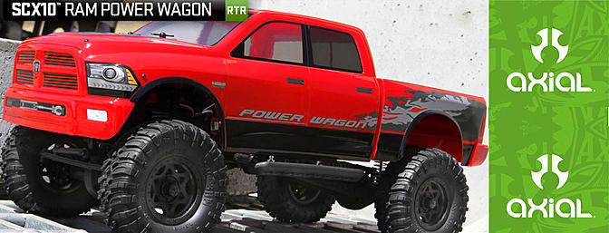 SCX10 Ram Power Wagon 1/10th Scale Electric 4WD