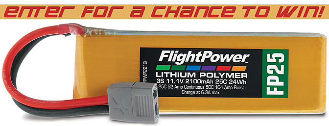 The FlightPower Lipo Contest - Post to Win!!