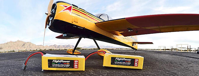 Flight Power's New Batteries