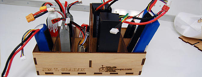 Ammo Can Battery Caddy