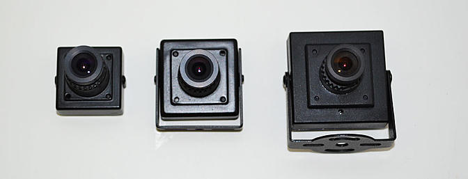 These Sony cams are great FPV cameras.  They have great resolution and can be had for between $30 to $80.