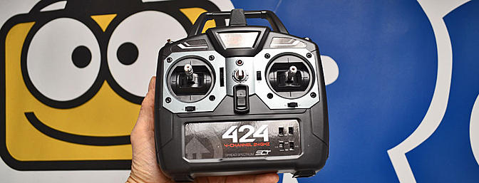 Tower Hobbies 424 2.4GHz Transmitter