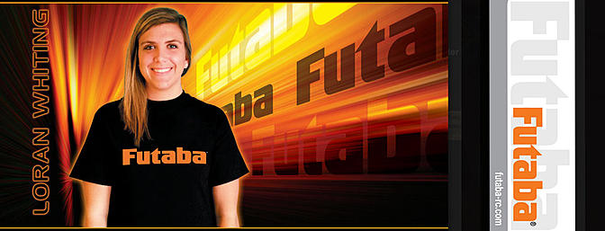 Loran Whiting Joins Team Futaba!