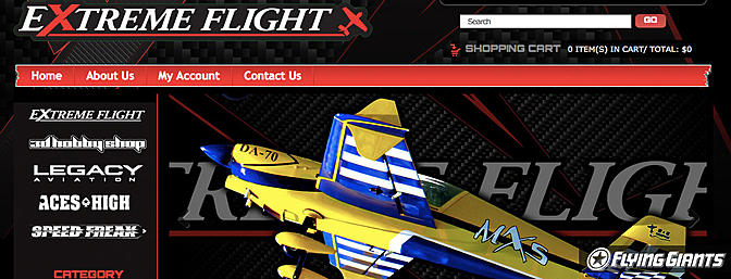 RCGroups Update - Extreme Flight Website is Live!