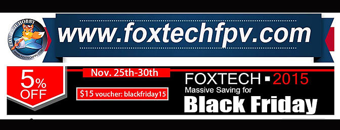 Foxtech Black Friday Savings