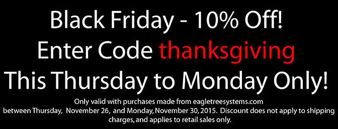Eagle Tree Black Friday Deals