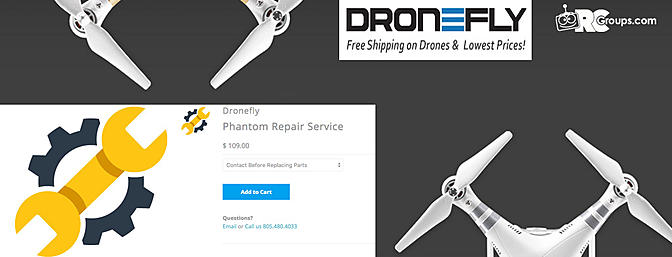 Phantom Repair Service - DroneFly