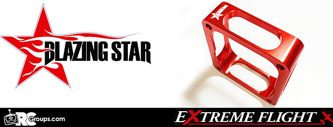 Extreme Flight RC - Blazing Star Engine Mounts and Standoffs