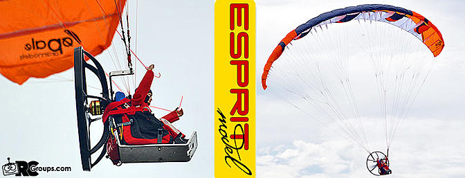 Esprit Model Opale Paramotor Hybrid 1.8 - RCG Review