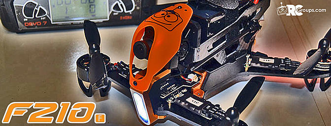 Walkera F210 FPV Race Quad - Review