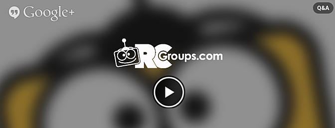 RCGroups LIVE Hangout! XFC, FPV, flying in the pool and more!