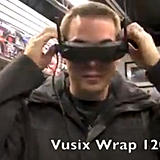 Vuzix goggle user