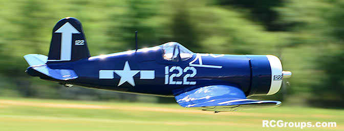 Joe Nall News - Hangar 9 F4U-1D Corsair 60cc