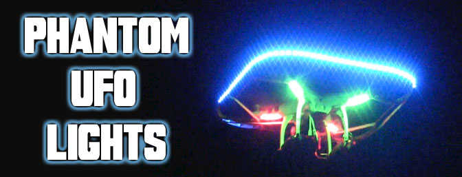 Phantom Multi Color UFO Light Kit