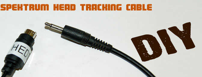 DIY - Head Tracking Cable for Spektrum TX