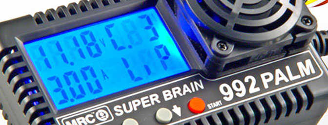 Super Brain 992 Palm AC/DC Charger