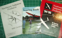 Buzzard Soaring Book and catalogs.