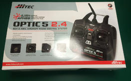 Hitec Optic 5 with Minima receiver, NIB