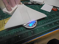 Name: Mirage 2000 wing after shaping.jpg