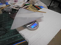 Name: Mirage 2000 wing after sealing and sanding.jpg