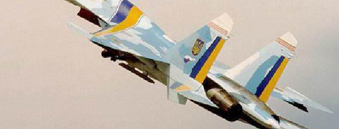 The real Su-27 on climbout
