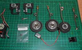 BVM mechanical retract and servos